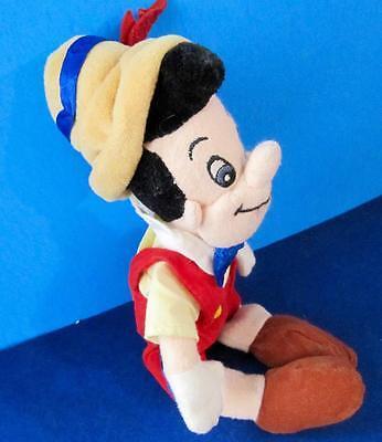 Pinocchio Stuffed Toy Beans Disney 10 in. tall Disney Store