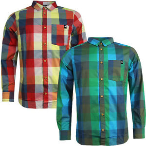 Adidas-Performance-ED-Str-Long-Sleeve-Mens-Polyester-UPF-50-Check-Shirt