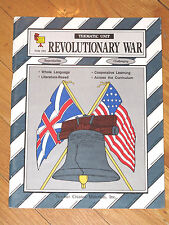 Teacher Created Materials REVOLUTIONARY WAR Thematic Unit Challenging