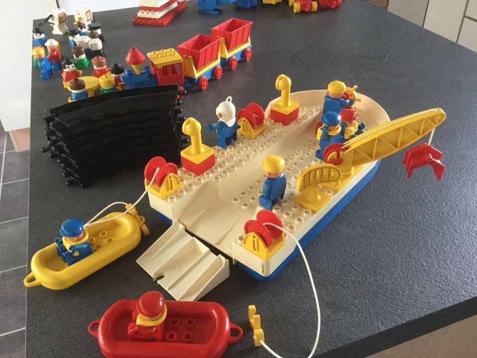 Lego Duplo, Færge, tog og løse klodser