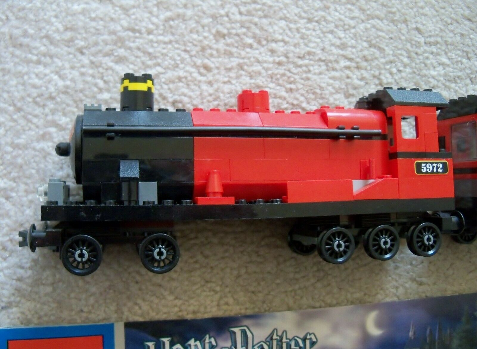 LEGO Harry Potter - Rare Rare Rare - 4758 Hogwarts Express w  Instructions (no minifigs) 93bb78