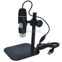 500x 2mp Digital Usb Microscope Magnifier Camera Vidio 8 Led Zoom Endoscope