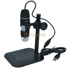 500X 2MP Digital USB Microscope Magnifier Camera Vidio 8 LED Zoom Endoscope New
