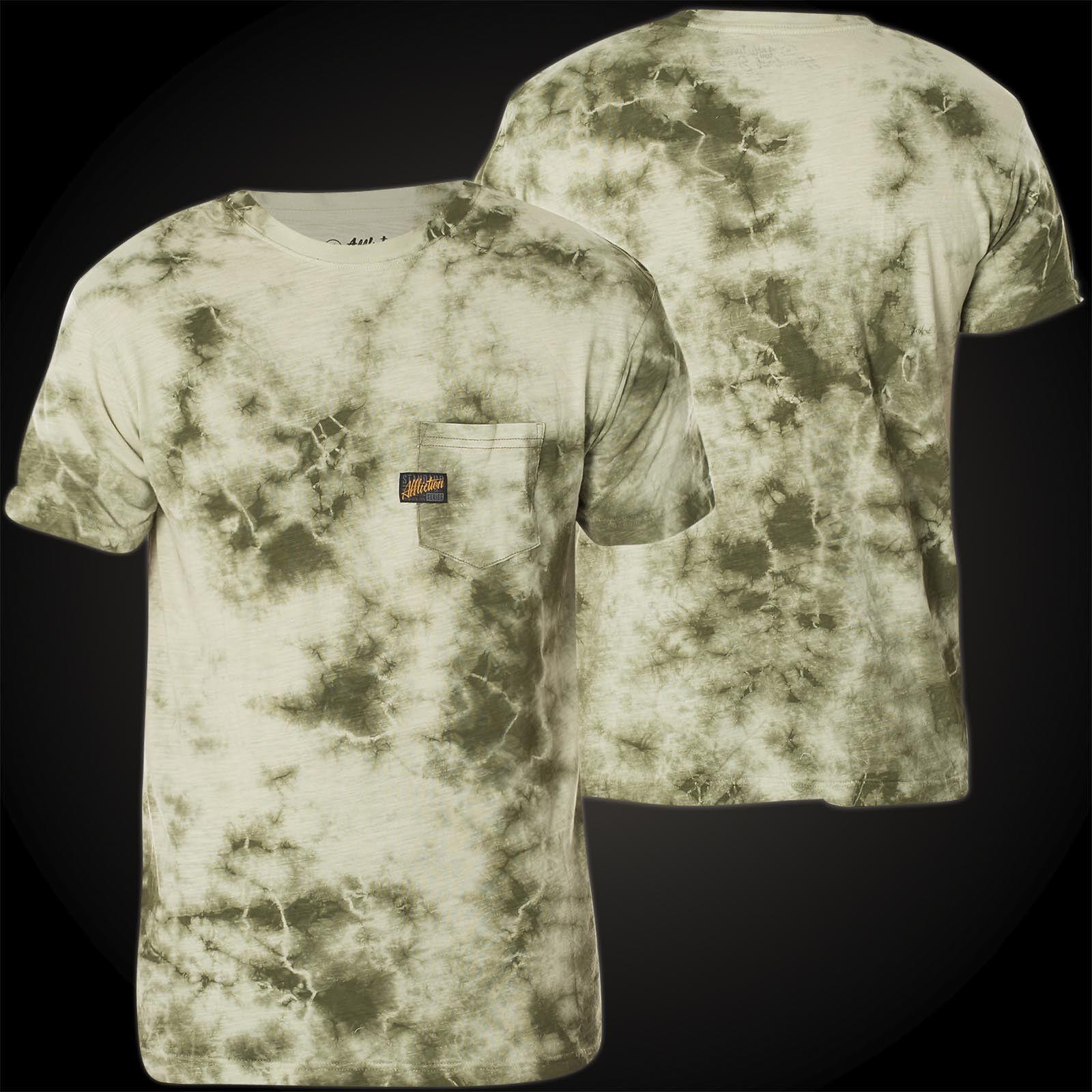AFFLICTION T-Shirt Standard Supply green T-Shirts