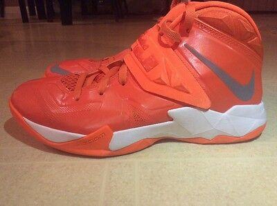 Nike Zoom Lebron Soldier VII Orange