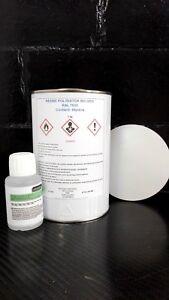 1 kg Résine polyester  ISO GRIS RAL 7035  avec 20 ml Catalyseur