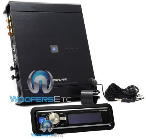 ALPINE RUX-C800 IN-DASH CONTROLLER pkg ALPINE PXA-H800 IMPRINT AUDIO PROCESSOR