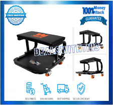Wen 73011 250 Pound Capacity Rolling Mechanic Seat With Onboard Storage For Sale Online Ebay