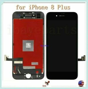 For-iPhone-8-Plus-LCD-Screen-Replacement-Digitizer-Touch-Display-Black-assembly