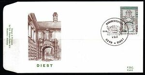 Belgium-obp-1997-DIEST-BEGIJNHOF-1980-FDC-DIEST