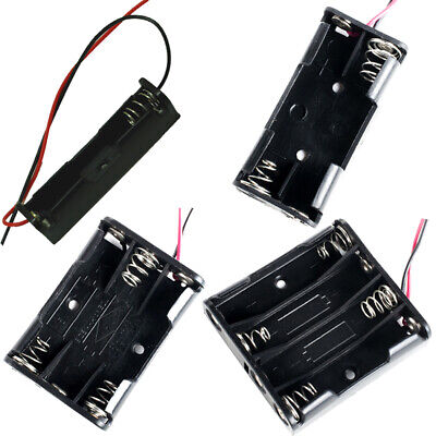 3 x AA Holder 150mm Wire Leads Tripple AA Battery Holder