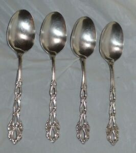 Oneida chandelier stainless soup spoon set of four oval soup image is loading oneida chandelier stainless soup spoon set of four aloadofball Gallery