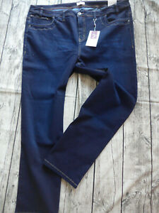 Sheego-Jeans-Pants-Straight-Form-Blue-Ladies-Size-44-to-56-778-Oversize-New