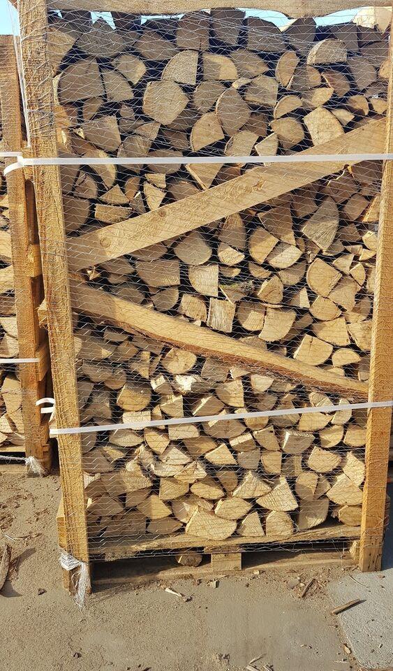 Ask brændetårn 1,85m3 lufttørret, længde28-30cm