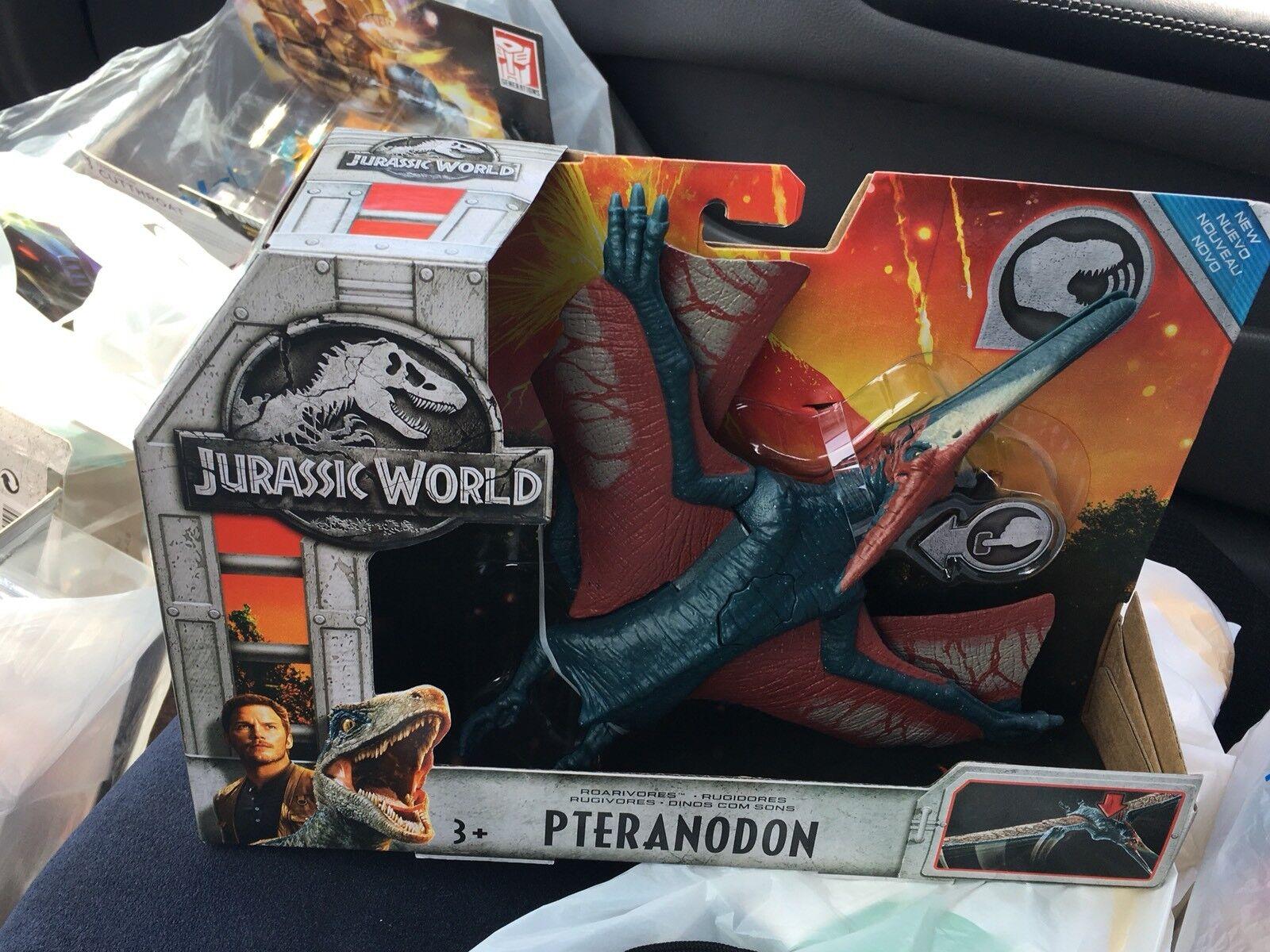 Jurassic World Pteranodon & Ankylosaurus Jurassic Park