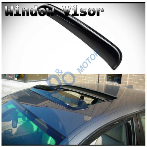 "38/"" Smoke Sun//Rain Guard Wind Deflector Moon Roof Visor Fit GM Mid Size Moonroof"