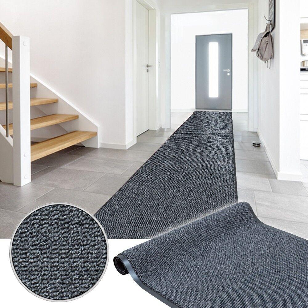 Basic Clean coffre paillasson tapis de saleté saleté de tapis propre coureur gris largeur 90cm 8a2529