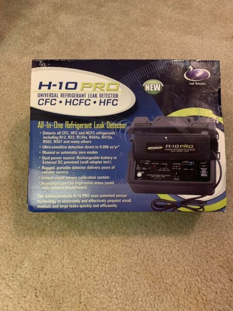 Bacharach H10 Pro Refrigerant Leak Detector - New