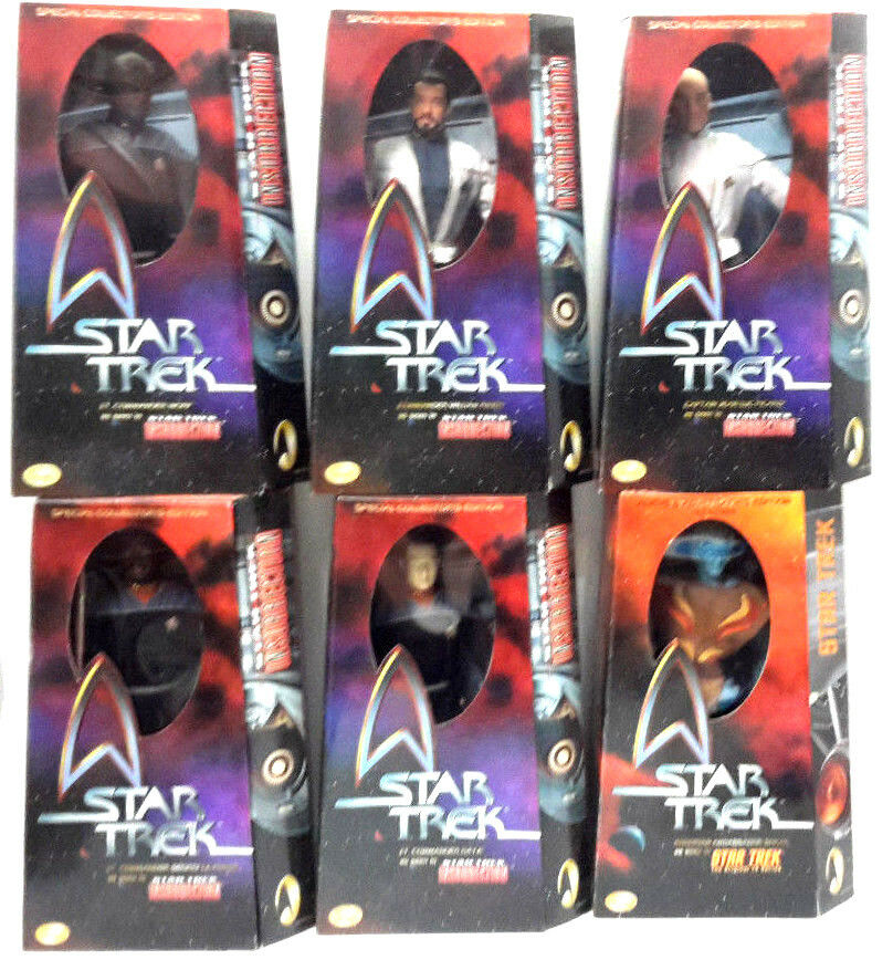Star Trek Insurrection 12  Action Figure Doll- Boxed-  6 Different Available