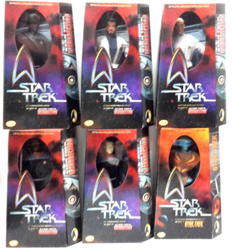Star Trek Insurrection 12 Action Figure/Doll- Boxed-  6 Different Available
