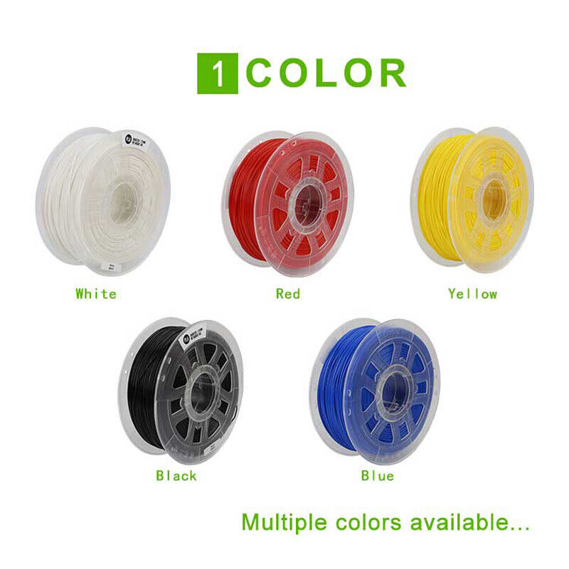 Creality 3D® White/Black/Yellow/Blue/Red 1KG 1.75mm PLA Filament For 3D