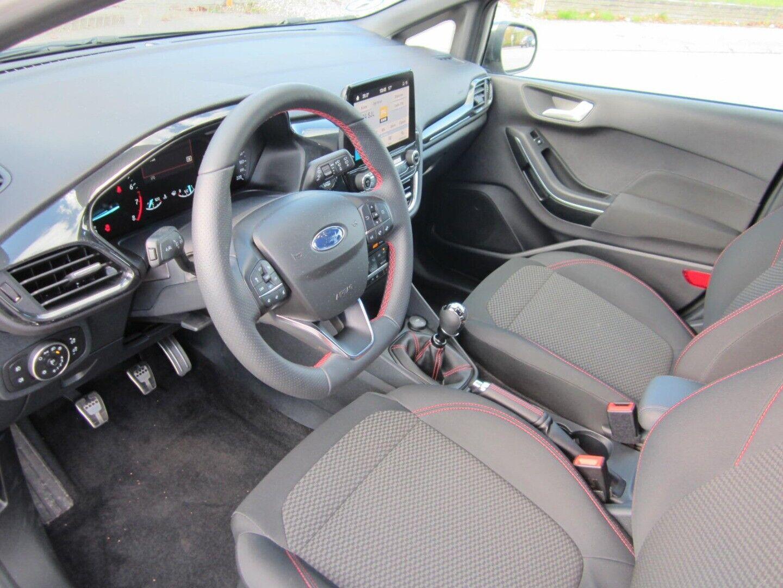 Brugt Ford Fiesta EcoBoost mHEV ST-Line X i Solrød og omegn