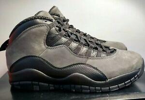 quality design de3ea 63258 Image is loading Nike-Air-Jordan-Retro-10-X-Dark-Shadow-