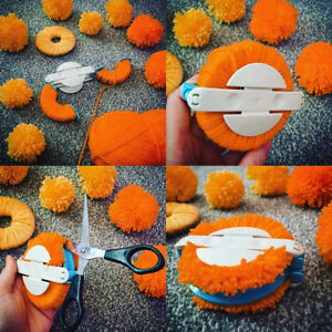 4Sizes-Pompom-Maker-Fluff-Ball-Weaver-Needle-Knitting-Crafts-bobble-DIY-Tool-Kit