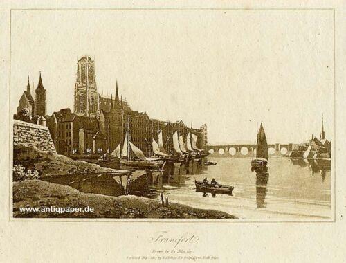 Frankfurt Aquatinta nach Sir John Carr ca. 1807