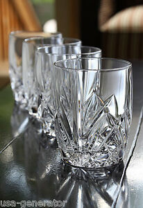 Marquis By Waterford Vintage Double Old Fashioned Glasses