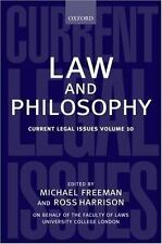 Law and Philosophy Current Legal Issues