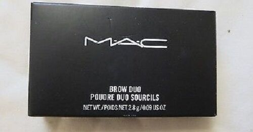 MAC Brow Duo Poudre Duo Sourcils Your choice color 0.09oz 2.8 g BRAND NEW