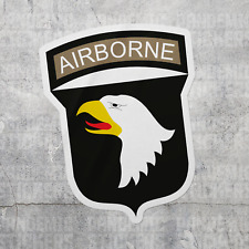 Bent Wookie 101st Airborne SSI Decal 3.5 Inch Tall US Army Made in and Ships from USA