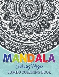 mandala coloring pages jumbo coloring book by speedy publishing
