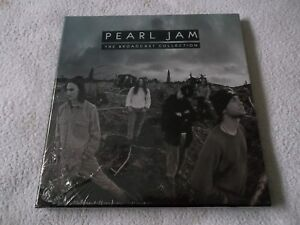 New & Sealed PEARL JAM - The Broadcast Collection, UK 3x LP Album 2016 PARA044BX