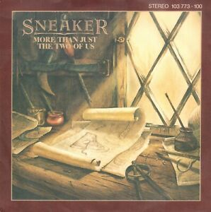 SNEAKER-More-Than-Just-The-Two-Of-Us-1981-VINYL-SINGLE-7-034-GERMANY