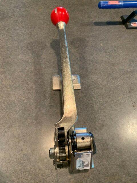 "Teknika H-230 Heavy Duty Steel Strapping Cutter 3//8/"" to 1-1//4/"" Strap Width"