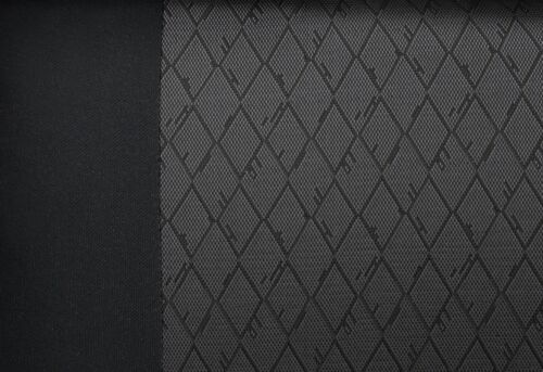 Schwarz-graue Dreiecke Sitzbezüge für CITROEN BERLINGO Autositzbezug Komplett