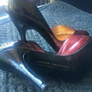 "Chinese Laundry Women's heels pumps size 7-1/2 4"" heels"
