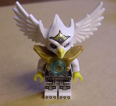 Lego Legends of Chima Figur mit Waffe Zubehör Neu Eris Silver silber Outfit