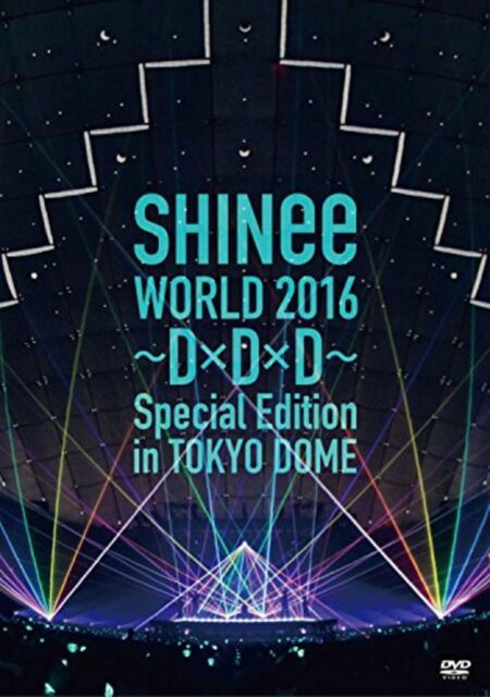 SHINee WORLD 2016 DxDxD Special Edition in TOKYO DOME DVD F/S w/Tracking# Japan