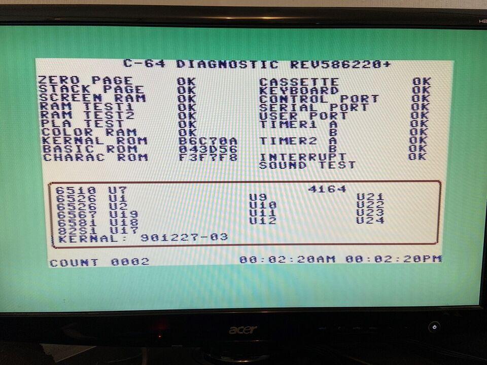Diagnostic Harness test kit for 586220+ og 785260,
