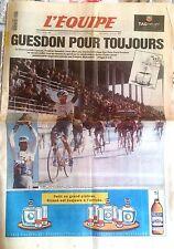 L'Equipe Journal 14/04/1997; Guesdon pour toujours sur Paris-Roubaix