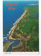LINCOLN CITY ON THE COAST WITHIN THE 20 MIRACLE MILES OREGON   POSTCARD # DLC-1