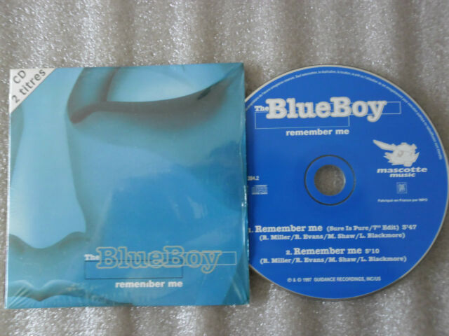 CD-THE BLUE BOY-REMEMBER ME-SURE IS PURE-MILLER/EVANS/-(CD SINGLE)-1997-2TRACK