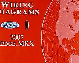 2007 FORD EDGE & LINCOLN MKX Electrical Wiring Diagram ...