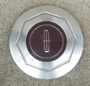 center cap hubcap for a 1984 1989 lincoln mark series continental 15 wheel ebay. Black Bedroom Furniture Sets. Home Design Ideas