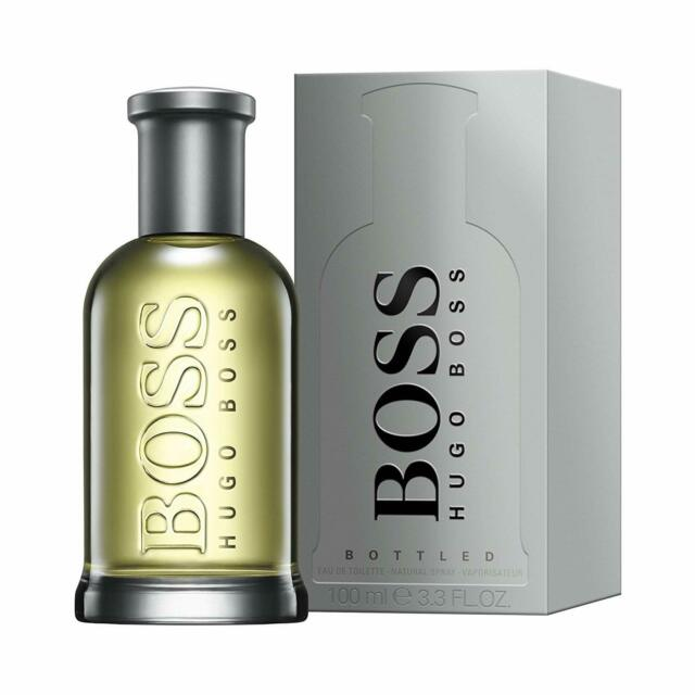 Hugo Boss Bottled For Men EDT 3.3oz 100ml  Spray, Authentic, New In Opened Box