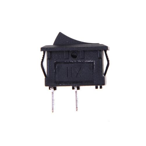 250V NRSPF OFF Rechteck-Wippschalter Armaturenbrett SPST 6A 10x 2PIN ON