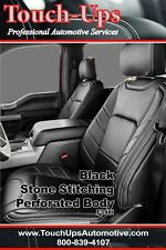 2015 2018 Ford F 150 Xlt Super Crew Leather Seat Covers Limited Design Black